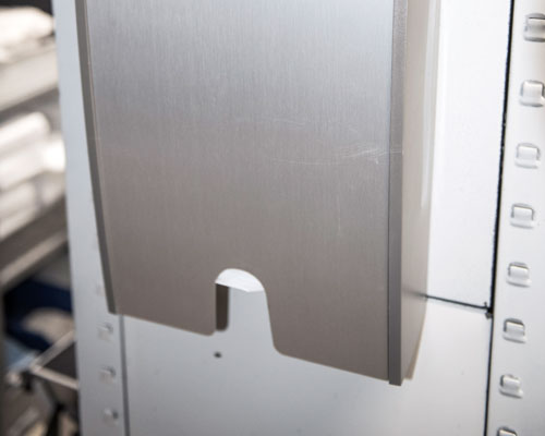 Waschraumhygiene im Rahmen der Grundreinigung von Langlotz Gebäudereinigung